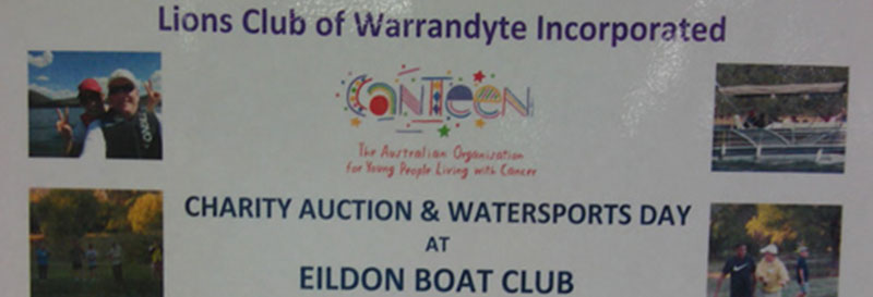 Charity Auction – Water Sports Day
