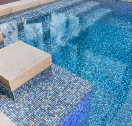 Residential pool tile trends