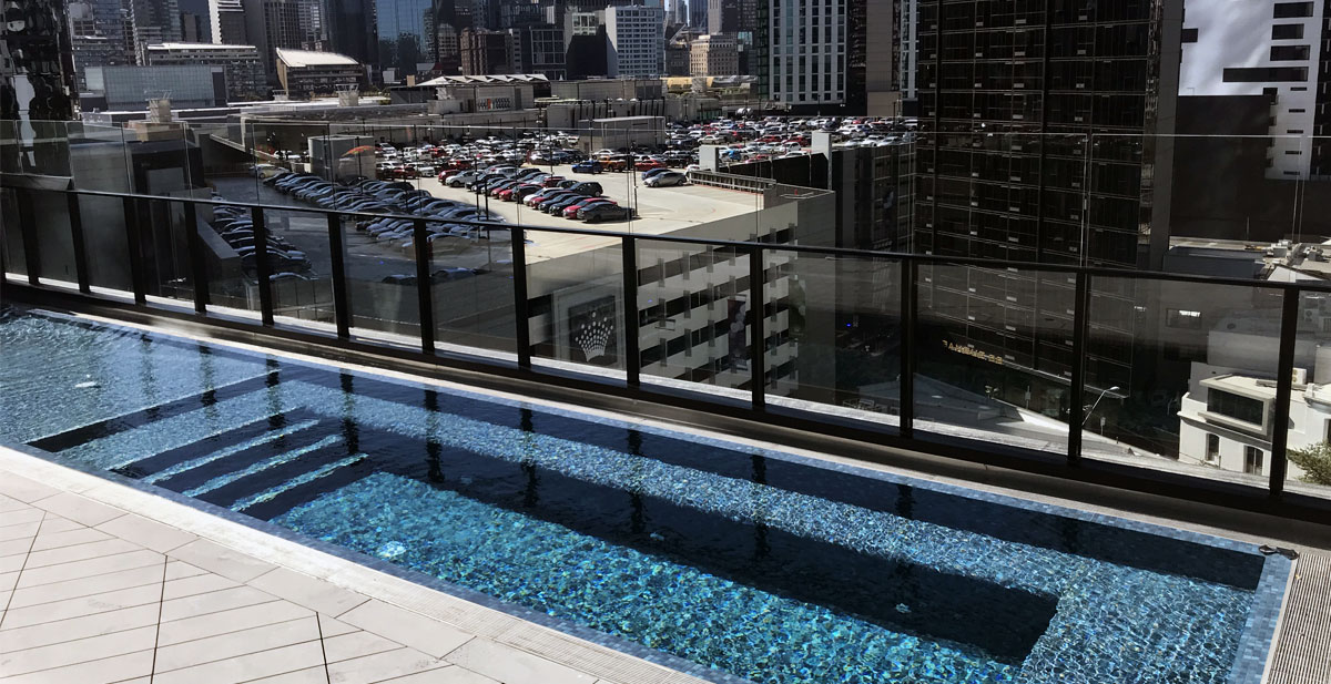 105 ClarendonSt Apartment Pool Southbank VIC CeramicSolutions